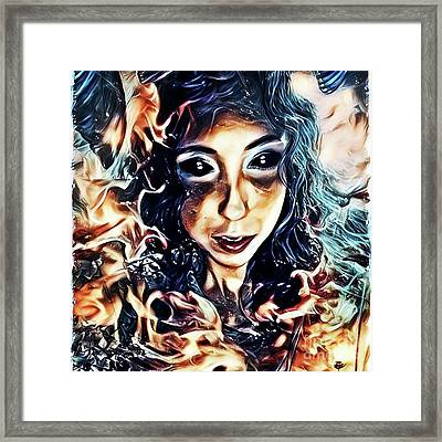 Creature Of The Deep Framed Print