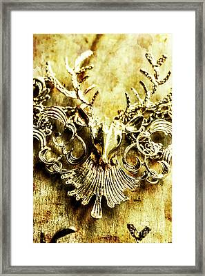 Creature Treasures Framed Print
