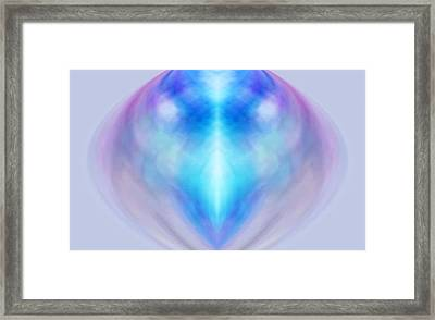 Creatures Of Light Framed Print by Geoff Simmonds