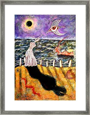Creatures Of The Night Framed Print by Ion vincent DAnu