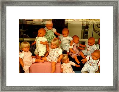 Creche 1 Framed Print by Jez C Self