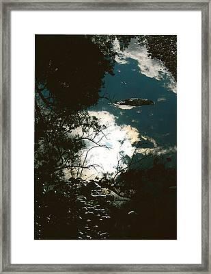 Creek Soul Framed Print by Thor Sigstedt