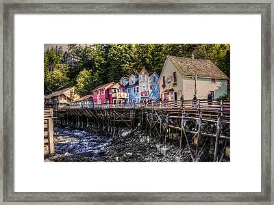 Creek Street  Framed Print by Robin Williams