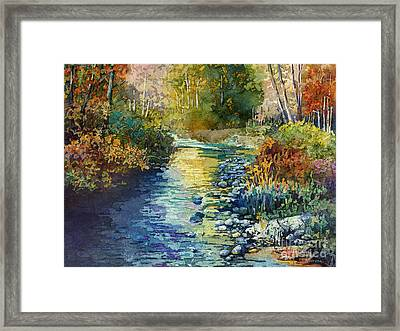 Creekside Tranquility Framed Print by Hailey E Herrera