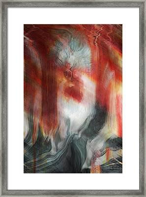 Creep Framed Print by Linda Sannuti