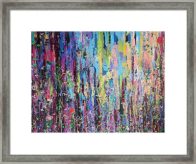 Creeping Beauty - Large Work Framed Print