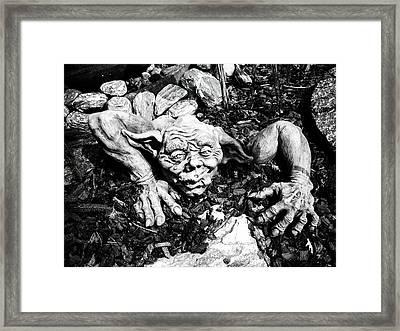 Creepy ... Framed Print by Juergen Weiss