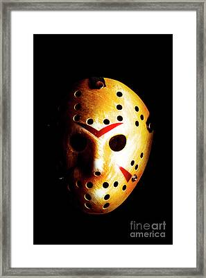 Creepy Keeper Framed Print