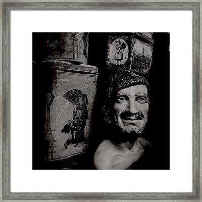 Creepy Old Stuff II Framed Print