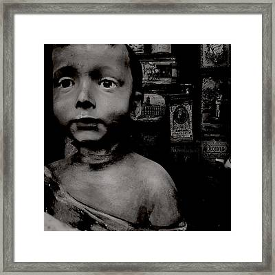 Creepy Old Stuff Framed Print by Marco Oliveira