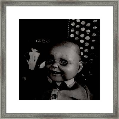 Creepy Old Stuff Vii Framed Print