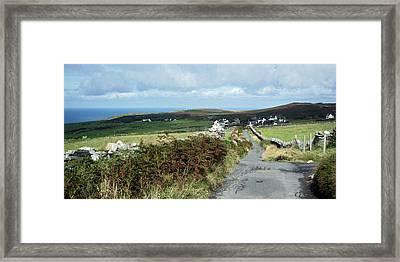 Cregneash Framed Print by Steve Watson
