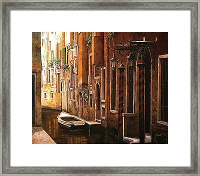 Crema Veneziana Framed Print