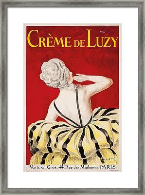 Creme De Luzy Framed Print