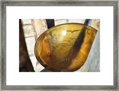 Cremonial Bowl Framed Print by Thor Sigstedt