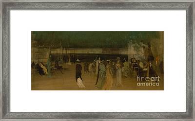 Cremorne Gardens Framed Print