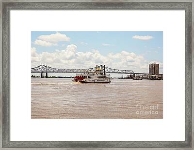 Creole Queen New Orleans Framed Print