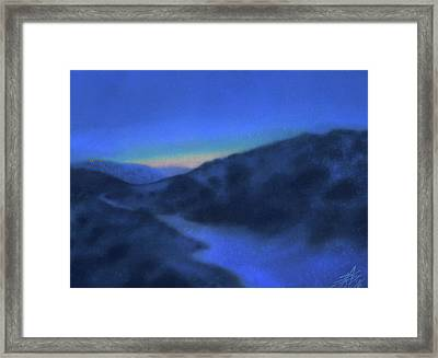 Crepuscule Or Los Penasquitos Canyon Xiv Framed Print by Robin Street-Morris