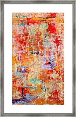 Crescendo Framed Print by Pat Saunders-White