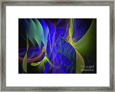 Crescendo Framed Print by Sipo Liimatainen