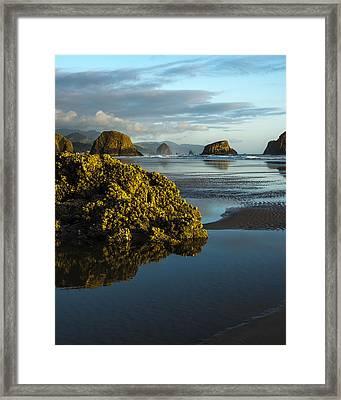 Crescent Beach Framed Print