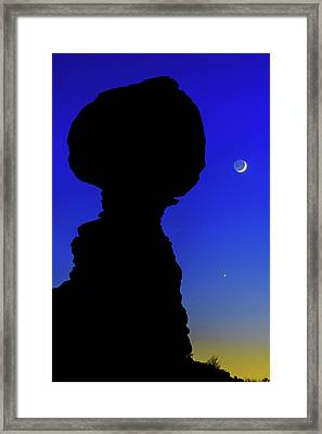 Crescent Framed Print