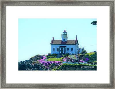 Crescent City Lighthouse Framed Print