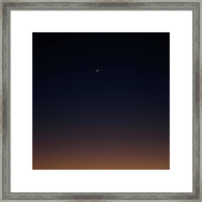 Framed Print featuring the photograph Crescent by Eric Christopher Jackson
