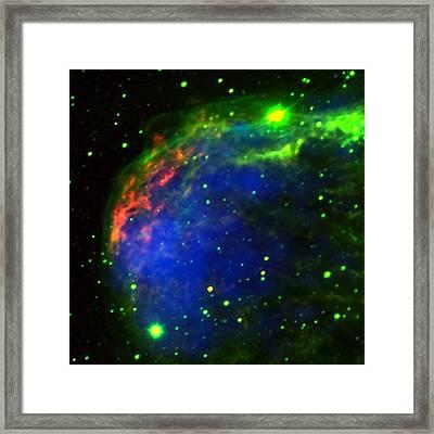 Crescent Nebula Framed Print by Jim Ellis