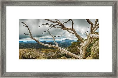 Cresta Valley - Mt Buffalo Framed Print by Mark Lucey
