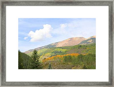 Crested Butte Framed Print by Jessie Foster