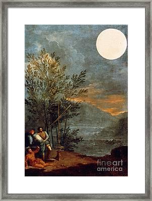 Creti: The Sun, 1711 Framed Print by Granger