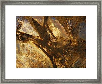 Framed Print featuring the photograph Crevasses by Sami Tiainen