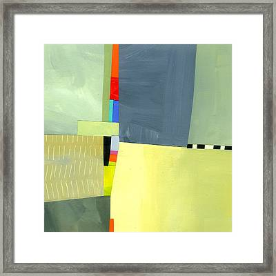 Crevice Or Cravat Framed Print by Jane Davies