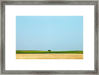 Crevice Framed Print