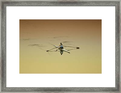 Crew Framed Print by Bill Cannon