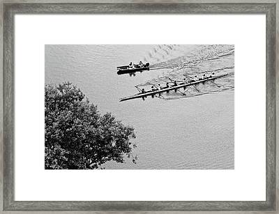 Crew Framed Print by Don Mennig