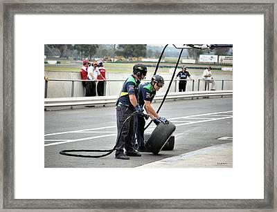 Crew Men Framed Print by Cheryl Hall