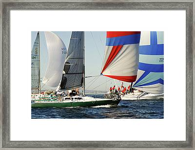 Crew Work Framed Print