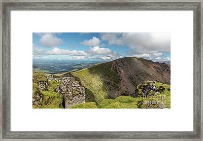 Crib Goch Mountain Framed Print