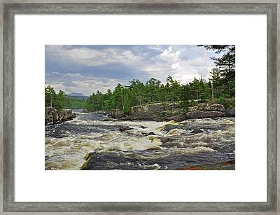 Crib Works 2 Framed Print by Glenn Gordon