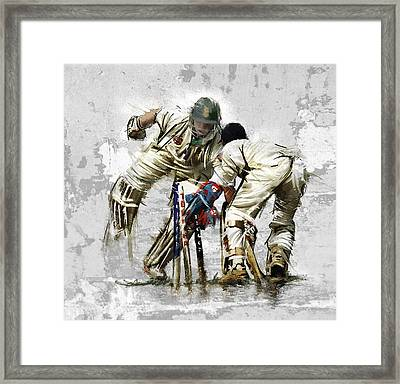 Cricket1 Framed Print by James Robinson