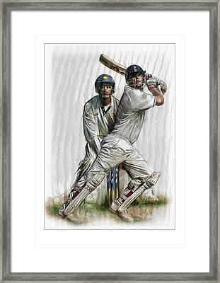 Cricket2 Framed Print by James Robinson
