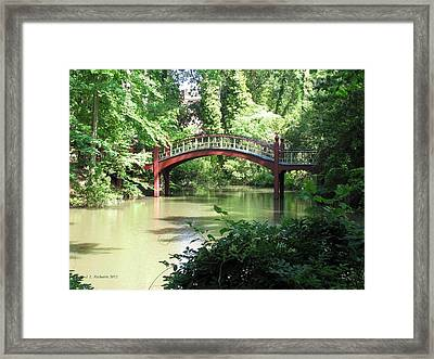 Crim Dell Bridge Iv Framed Print
