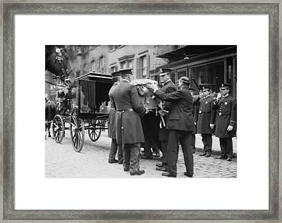 Crime Fighting Hero Giuseppe Joe Framed Print by Everett