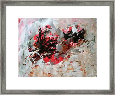 Crimson Lake  Framed Print