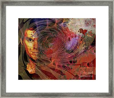 Crimson Requiem Framed Print