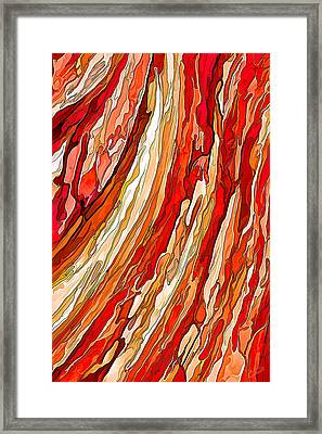 Crimson Tide Framed Print by ABeautifulSky Photography