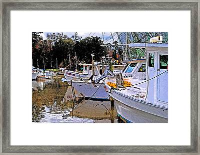 Crimson Tide Framed Print by Michael Thomas