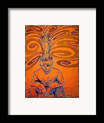 Humanity Decadent Framed Prints